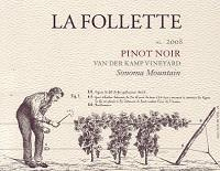 La Follette Pinot Noir Van der Kamp Vineyard